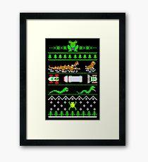 Christmas Frogger Framed Print