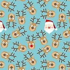 Christmass Pattern by deepfuze