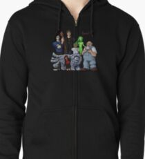 Dresden Files Family Portrait Zipped Hoodie