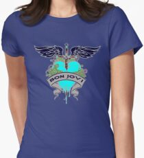 Bon Jovi Women's Fitted T-Shirt