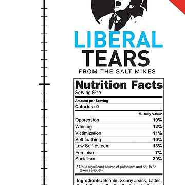 SPECIAL Liberal/Democrat Tears From the Salt Mines Logo REE screaming  SCHREECHING LIBERAL Che Guevara style - Online Store by iresist