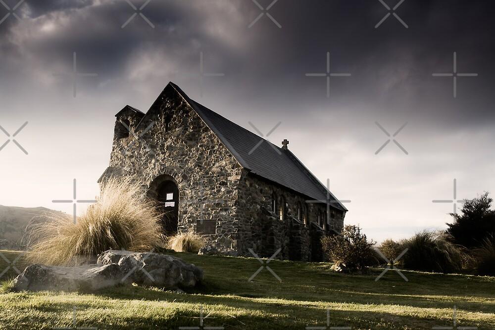 Little church by Mel Brackstone