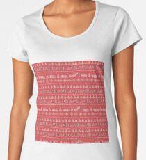 Stranger things Christmas Women's Premium T-Shirt