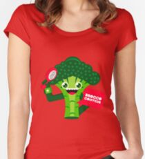 Broccolito Women's Fitted Scoop T-Shirt