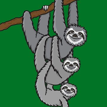 Sloths by plushism