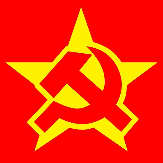 Quot Communist Symbol Quot Poster By Monsterplanet Redbubble