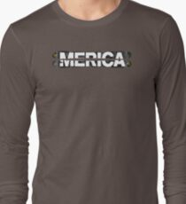 Merica Graphic OX811 New Product Long Sleeve T-Shirt