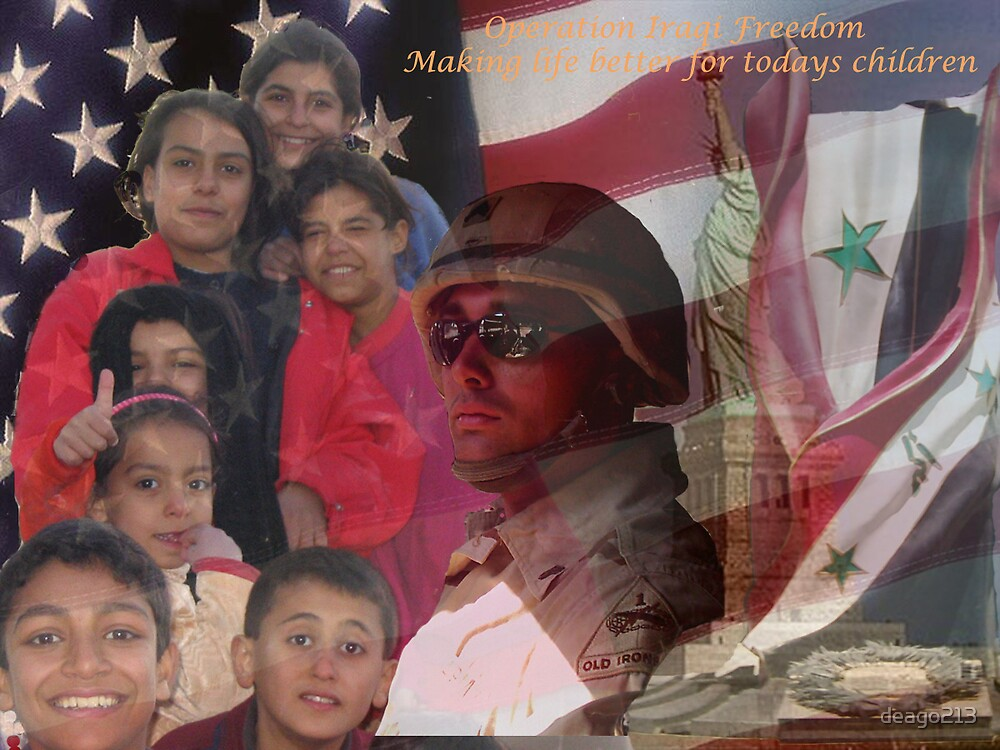 Creating new Iraq one child at a time by deago213