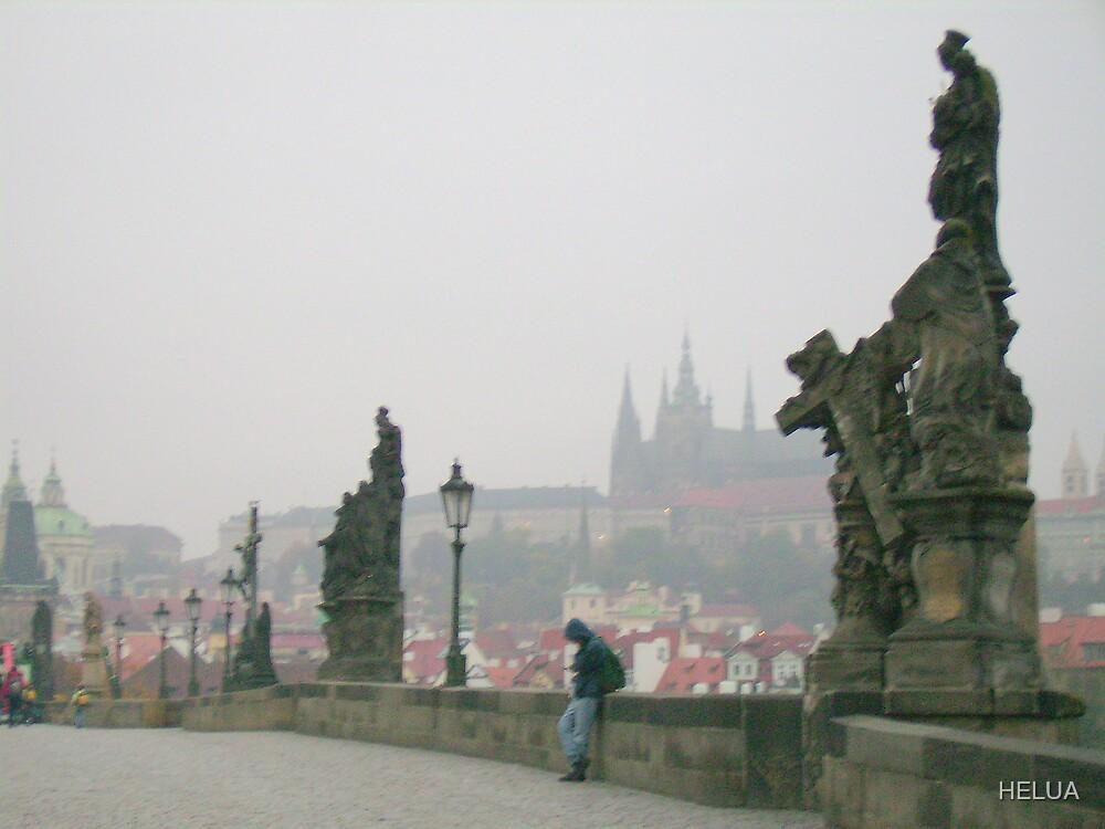 November Mist In Prague by HELUA