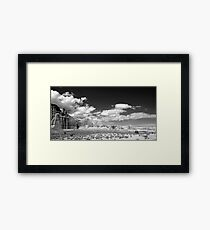deserts of the west #2 Framed Print