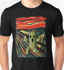 Camiseta ajustada The cactilion scream