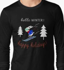 Christmas T-Shirts, Christmas Holiday Shirts Long Sleeve T-Shirt