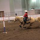 Junior High School Rodeo ~ 2 by Michael McCasland
