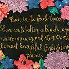 Wild Beauty Art by Fadwa  @ Word Wonders