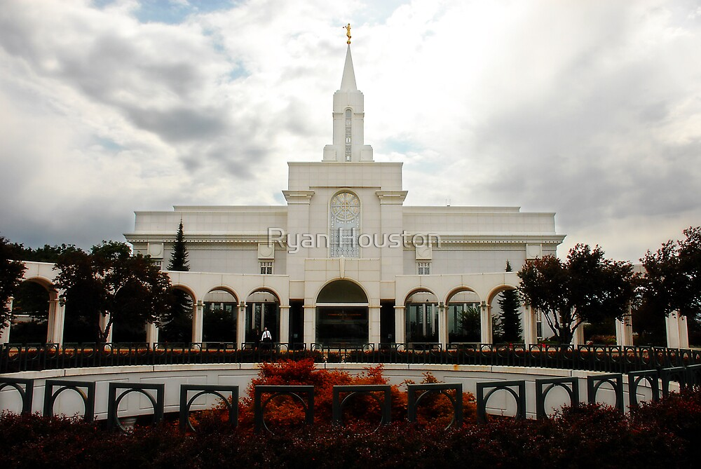 Bountiful LDS Temple by Ryan Houston