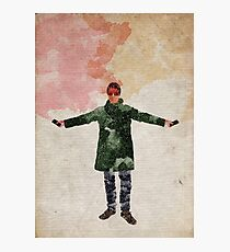 Liam Gallagher (Oasis, Beady Eye) Manchester Britpop Watercolour Print Photographic Print