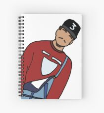 Chance Illustration Spiral Notebook