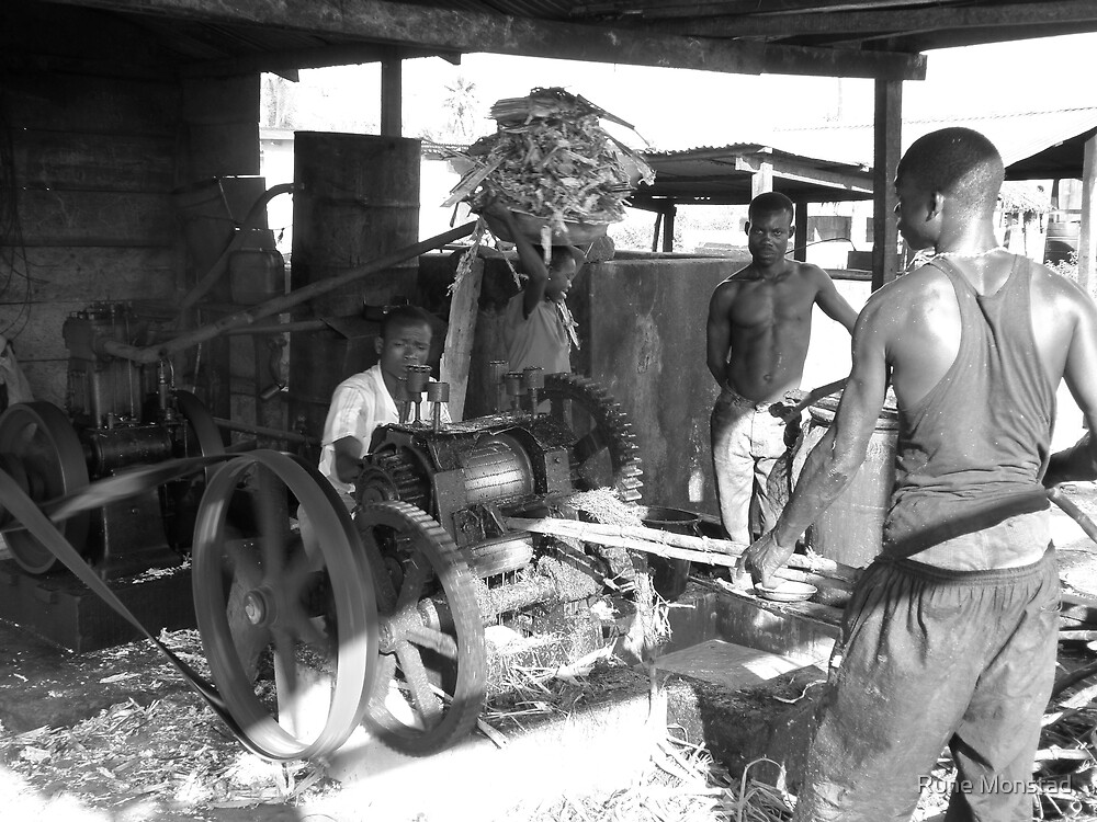 Ghana, sugar factory by Rune Monstad