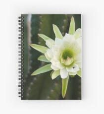 Princess of the Night - Blooming with Bee Spiral Notebook