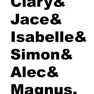 Main Characters - TMI by hudsonsberry