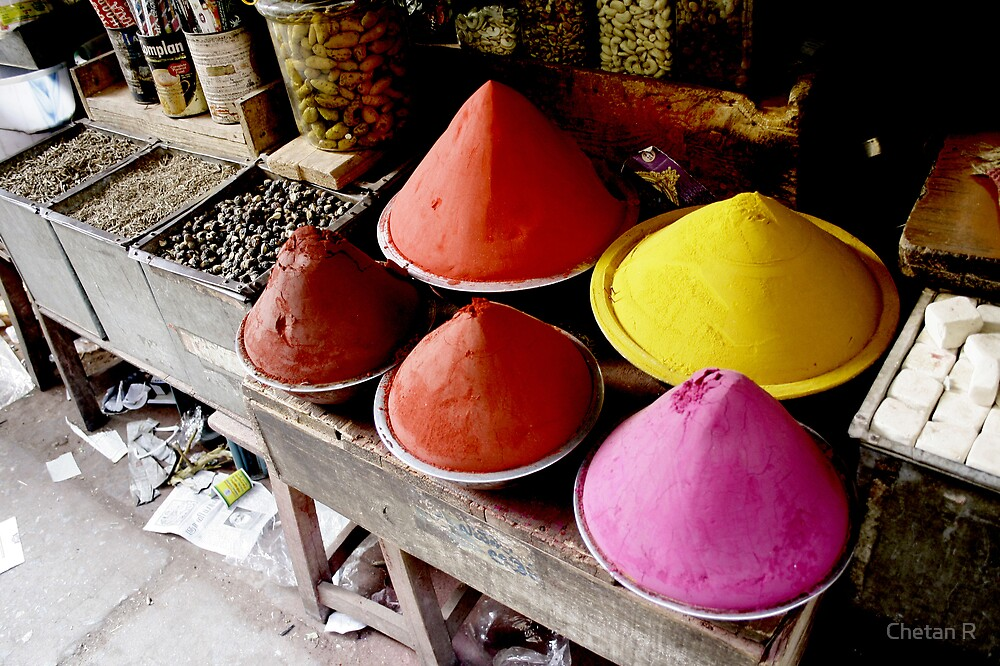 Colours of India I by Chetan R