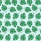 Monstera Leaf by makemerriness