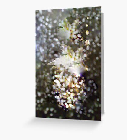 Sand Flowers Greeting Card