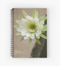 Princess of the Night - Twin Blooms with Bees Spiral Notebook
