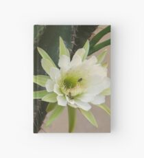 Princess of the Night - Twin Blooms with Bees Hardcover Journal
