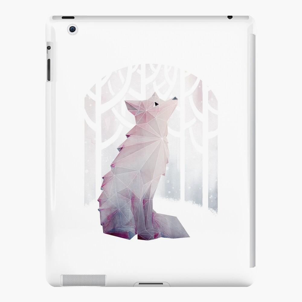 Fox en la nieve Vinilos y fundas para iPad