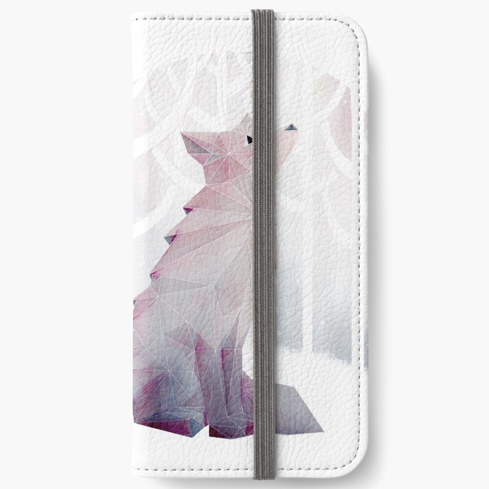Fox in the Snow iPhone Wallet