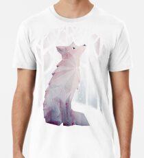 Fox in the Snow Men's Premium T-Shirt