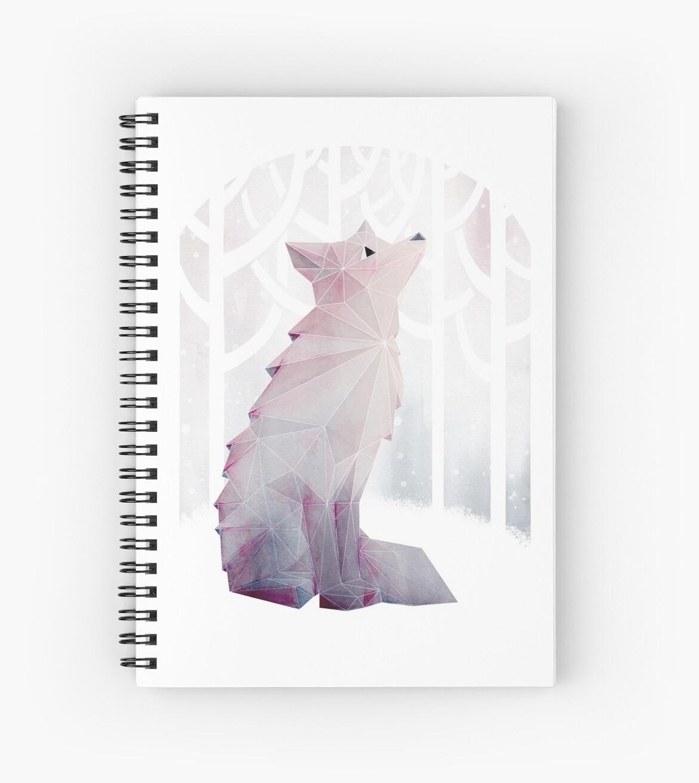 «Fox en la nieve» de littleclyde