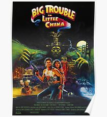 Große Probleme in Little China Poster