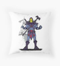 Masters Of The Universe: Skeletor Throw Pillow