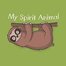 Trägheit ist mein Geist-Tier von Beka Designs