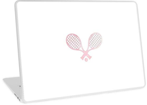 Tennisschläger Pink von hcohen2000
