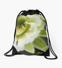 Princess of the Night - Bloom Close Up  Drawstring Bag