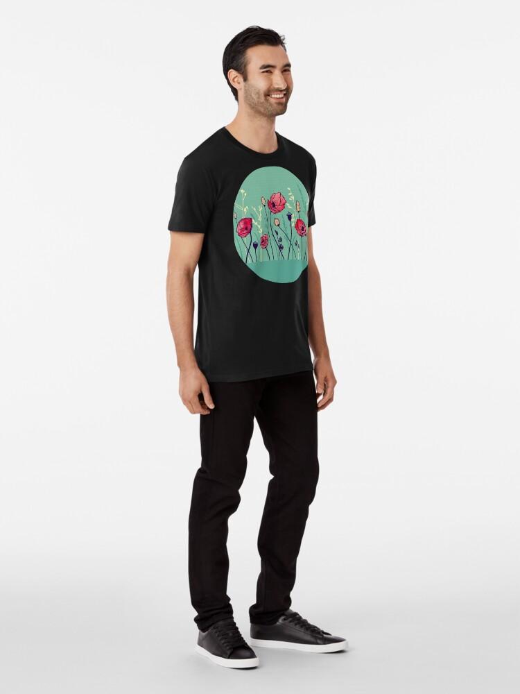 Alternate view of Summer Field Premium T-Shirt