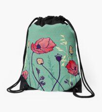 Summer Field Drawstring Bag