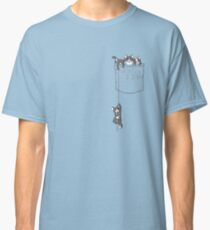 Pocket cat / Pocket Kittens Classic T-Shirt