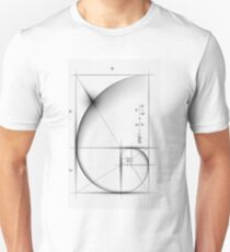 Golden Ratio - Large Unisex T-Shirt