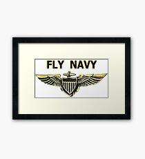 Naval Aviator Wings Framed Print