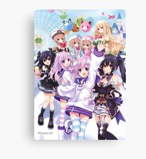 Hyperdimension Neptunia Re;Birth 2 main cast Canvas Print