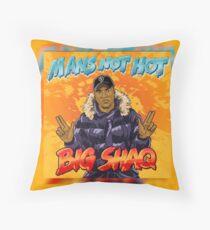 Big Shaq (MANS NOT HOT) Throw Pillow