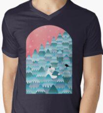 Tree Hugger Men's V-Neck T-Shirt