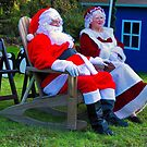 Mr. and Mrs. Santa Clause by TJ Baccari Photography