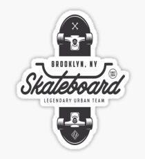 Urban Skating, Brooklyn NY Sticker