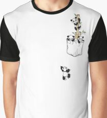 POCKET PANDAS Graphic T-Shirt