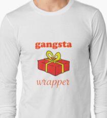 Gangsta Wrapper Xmas Long Sleeve T-Shirt